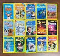 Lot 15 NATIONAL GEOGRAPHIC KIDS Readers 3 Collections Science Animals Cutest