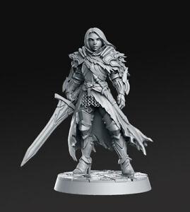 Lydia RN Estudio Legacy Vault II DnD D&D AOS Warhammer Knight Paladin warrior