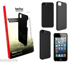 100% Original Tech 21 D30 impacto funda cubierta de SNAP para iPhone SE 5S 5 Negro T21-3577