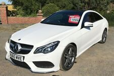 2015/65 Mercedes-Benz E350 CDI AMG Line 2dr Coupe Auto White Red Leather 9G