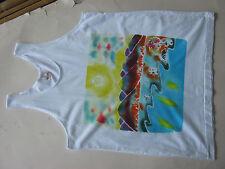 Free ship Thai batik arts cloth painted with hand craftsmanirship souvenir MBT38
