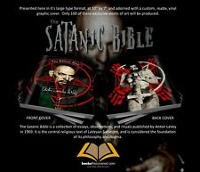 The Satanic Bible - Anton LaVey - Anton LaVey Design by BooksRecovered