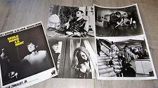 SEUL DANS LA NUIT  ! Audrey Hepburn photos presse cinema argentique 1967