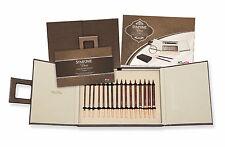 KnitPro ROSE Deluxe-Set in elegante box art. 20617, Symfonie Legno Ago punte