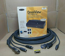 More details for belkin omniview e series 4-port kvm switch bundle, power supply not required