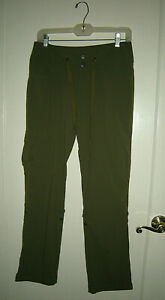 Women's Colombia Omni-Shield Pants Khaki Green Size 4 Regular, Hiking, Camping+
