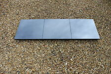 """New Absolute Black Granite Hearth 60"""" x 18"""" for solid fuel fireplace"""