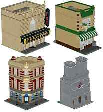 LEGO City Building Pack Custom Instructions