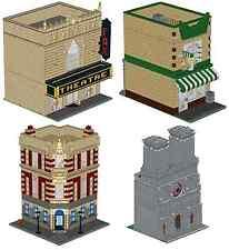 LEGO City Building Pack Custom Instructions