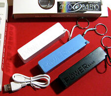 "POWER BANK BATTERIA PORTATILE 2600MAH PR APPLE IPHONE 6 4,7"" MICRO EMERGENZA USB"