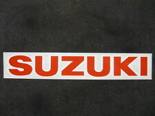 SUZUKI DECAL STICKER RM LTZ GT GS T TC GSX NOS AHRMA LG