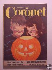 CORONET October 1953 ALEC GUINNESS H. J. JACK HEINZ BETTY FURNESS BALLET DANCERS