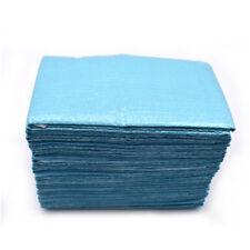 10bag Disposable Blue neckerchief towels lacing bibs sputa pad dental scarf