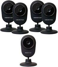 Momentum 720p HD Wi-Fi Home/Office/Pet Audio/Video Monitoring Camera (FIVE-PACK)