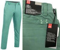 Under Armour UA Matchplay Tapered Golf Trousers - RRP£65 - Green - Long Leg