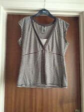 Top by Next Brown and Fawn Striped