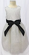 JANIE AND JACK girls size 3 NWOT GORGEOUS polka dot tulle dress