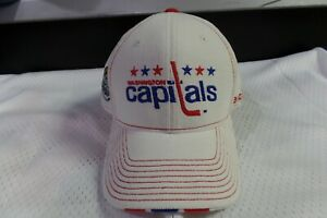 Reebok Washington Capitals 2011 Winter Classic Official Flex Fit Hat New sticker