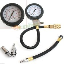 Multi-Function Gas Engine Cylinder Compression Pressure Tester Gauge Auto Motor
