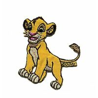 Iron On Motif Lion King Simba Stick on Sew On Craft Disney