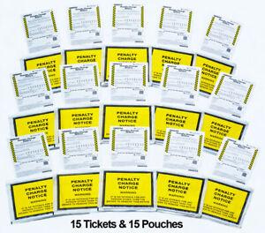 WARNING - Very Realistic Fake joke Parking Tickets Prank  OFFICIAL LOOK & FEEL -