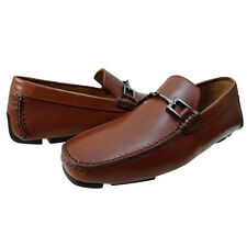 Bruno Magli Mens Monza Bit Strap Casual Driving Drivers Italian Loafers Shoes