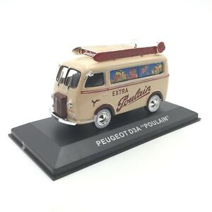 1/43 Peugeot D3A Poulain Extra Poulain Chocolate Shipping Home