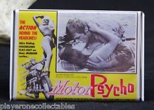 "Motor Psycho! Movie Poster - 2"" X 3"" Fridge / Locker Magnet.  Russ Meyer"