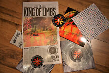 "RADIOHEAD, THE KING OF LIMBS, RARE LTD 2 x 10"" VINYL + CD, LIVE DVD  (SEALED)"