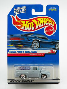 Hot Wheels 1999 First Editions '56 FORD TRUCK New Free Shipping