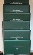 1972-1977 St. Patrick's Day Silver Medals and Cachets - All .999 Silver