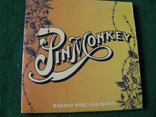PIN MONKEY.. Barbed Wire & Roses (2 Track CD Single)
