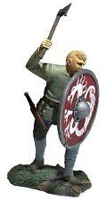 "W Britain - Dark Ages ""Gustav"" Saxon Pushing With Shield 62121 Wrath Northmen"
