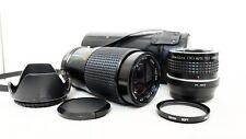 Olympus PEN OM Panasonic LUMIX Micro 4/3 DSLR fit CENTON 210mm 420mm ZOOM lens