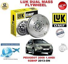FOR PEUGEOT 2008 1.6 HDi 92BHP 2013-ON ORIGINAL LUK DMF DUAL MASS FLYWHEEL