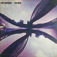 """The Nice – Five Bridges Vinyl 12"""" LP Charisma CAS 1014 UK 1970"""