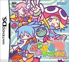 Used DS Puyo Puyo Fever 2 NINTENDO JAPANESE IMPORT