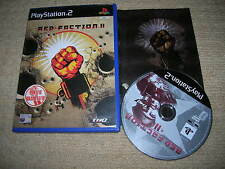 RED FACTION II - Rare Sony PS2 Game