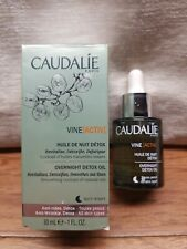 Vine Activ Overnight Detox Oil by Caudalie for Women - 1 oz Treatment NIB