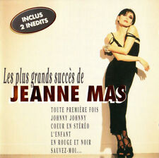 Jeanne Mas – Les Plus Grands Succès De Jeanne Mas  Cd Album