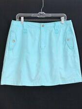 French Cuff Golf Skort Skirt Blue Size 10