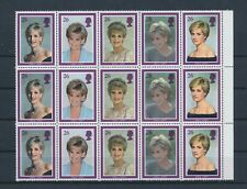 LL94378 Great Britain princess Diana royalty fine lot MNH