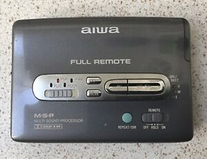 Aiwa HS-PX447 Stereo Cassette Player. Boxed.