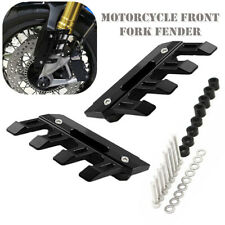 Motorcycle CNC Anti Falling Front Fork Fender Cover Mud Flap Frame Splash Guard