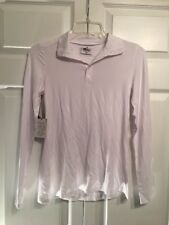 NEW MOTT 50 Sun Protection Top Size XS Soft Stretch Bamboo Long Sleeve White