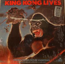 "OST - SOUNDTRACK - KING KONG LIVES - JOHN SCOTT 12"" LP (L828)"