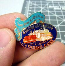 1996 Golden Days Fairbanks Alaska Collectors lapel pin, hard to find item