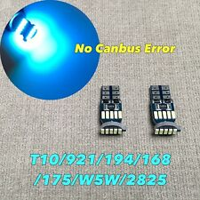 Parking Light T10 SMD LED Wedge 194 2825 168 12961 W5W 175 ICE BLUE W1 JAE
