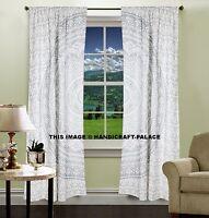 Mandala Ombre Tissu Tapisserie Hippie Porte Cutain Indien Coton Fenêtre Rideaux