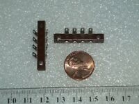 set of 2  terminal strips  4 x 2 soldering terminals